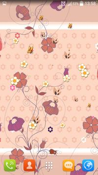 Summer Flowers Live Wallpaper screenshot 3