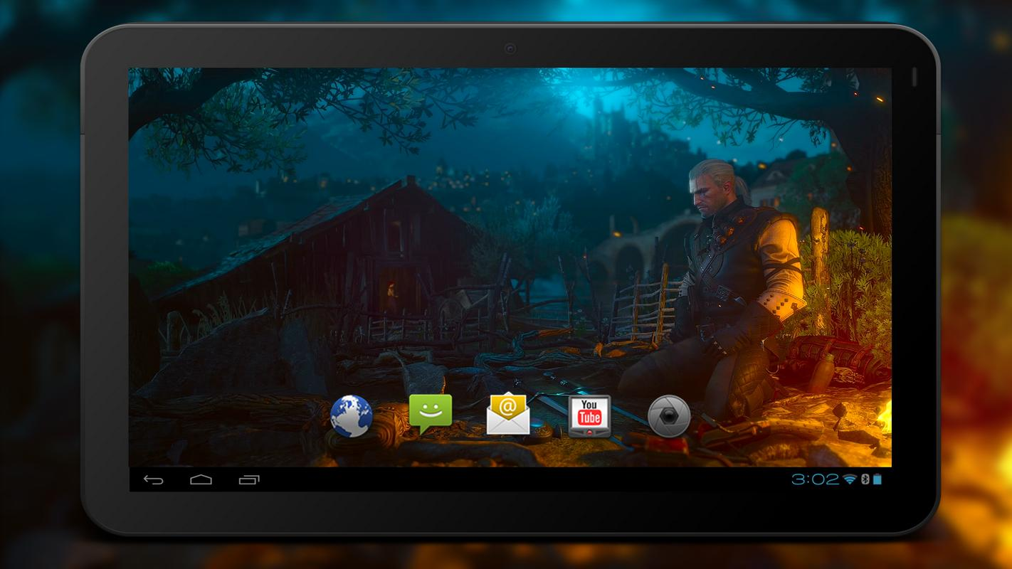 4k Witcher 3 Blood And Wine Live Wallpaper Pour Android