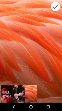4K Flamingo Lock Screen apk screenshot