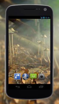 4K Mushrooms and Smoke Live Video Wallpaper apk screenshot