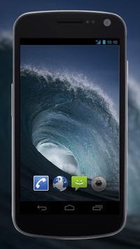4K Perfect Sea Wave Live Video Wallpaper poster
