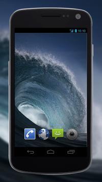 4K Perfect Sea Wave Live Video Wallpaper apk screenshot