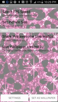 Cheetah Spots Live Wallpaper apk screenshot