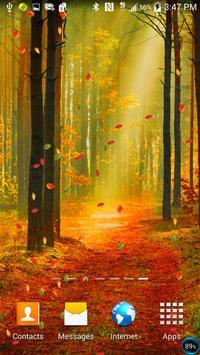 Forest Live Wallpaper screenshot 4