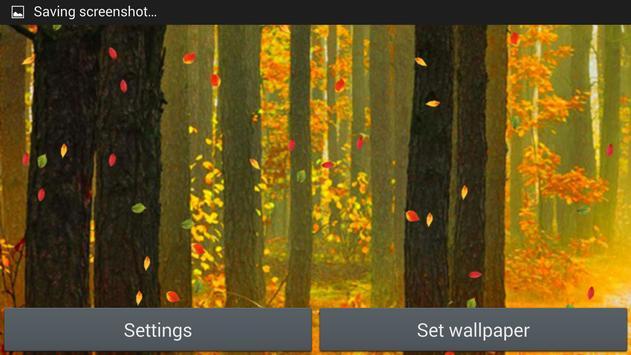Forest Live Wallpaper screenshot 7