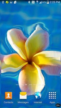 Flower Ripple Live Wallpaper screenshot 10