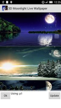 Moonlight Live Wallpapers apk screenshot