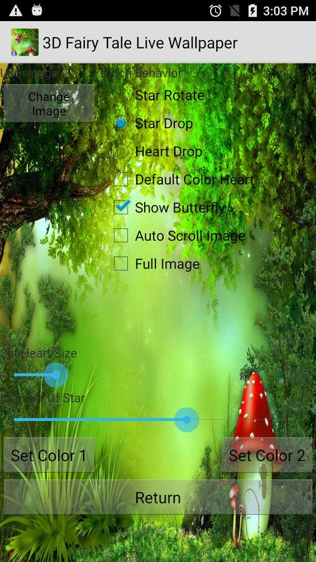 3D Fairy Tale Live Wallpapers APK Download Free Personalization APP For And