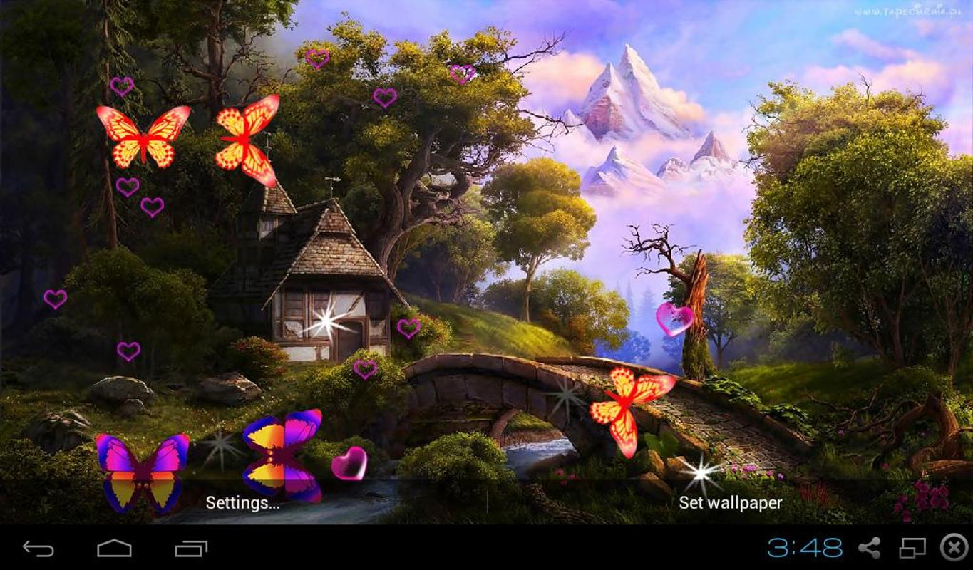 3d fairy tale live wallpapers apk download free personalization app