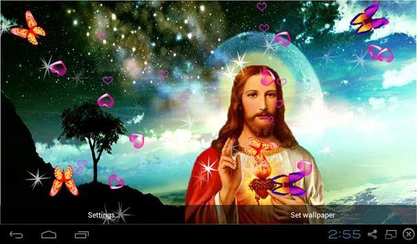 3D Jesus Wallpapers Apk Screenshot