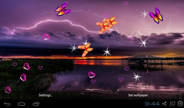 Lightning Storm Live Wallpapers apk screenshot