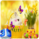 Cute Rabbit Live Wallpapers icon