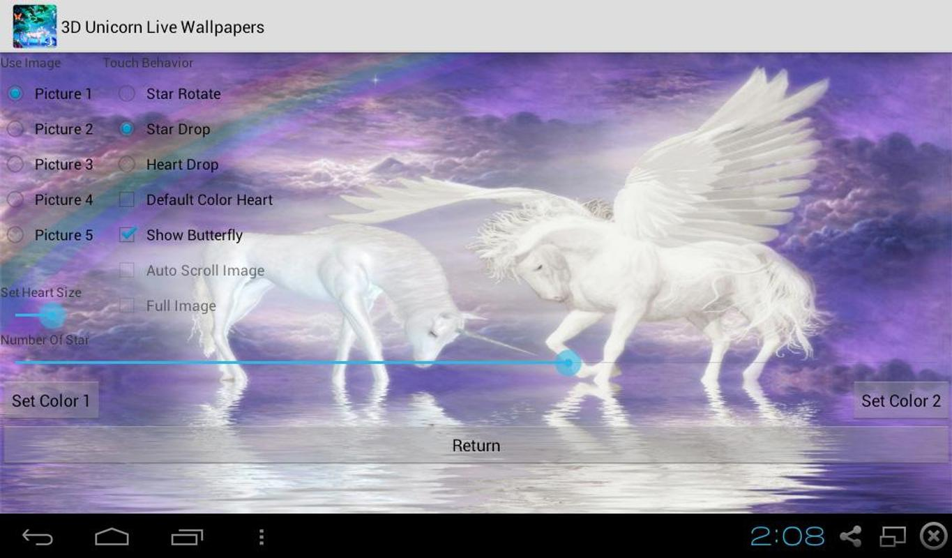 3D Unicorn Live Wallpapers APK Download - Free Personalization APP for Android APKPure.com
