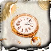 Clock on the seafloor icon