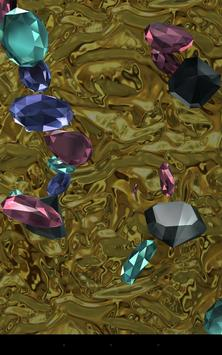 Falling diamonds 3D screenshot 2