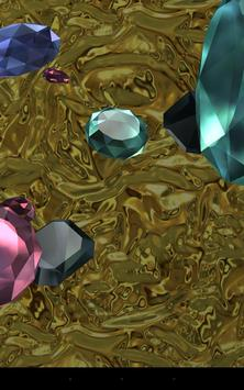 Falling diamonds 3D screenshot 4