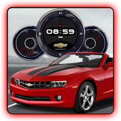 Muscle Car HD Live Wallpaper icon
