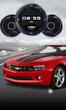 Muscle Car HD Live Wallpaper poster