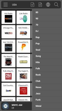 Radio USA Fm - Music & News screenshot 5