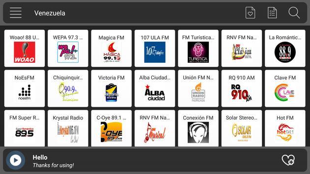 Venezuela Radio poster