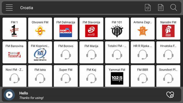 Croatia Radio screenshot 5