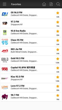 Radio Singapore Fm - Music & News screenshot 1