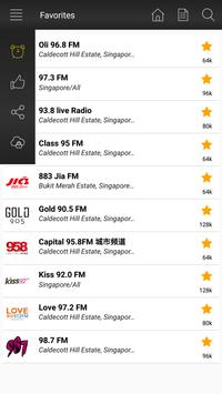 Radio Singapore Fm - Music & News screenshot 4
