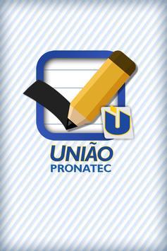 UNIÃO Pronatec poster