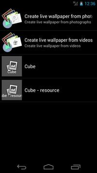 Live Wallpaper Creator apk screenshot