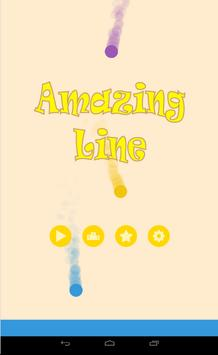 Amazing Line Dot poster