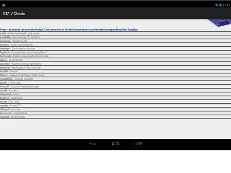 GTA 5 apk Android screenshot 1/2