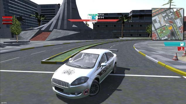 Linea Simulation Race - Drift - City poster