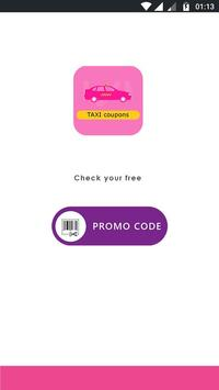 Free Lyft Taxi Coupons For Lyft Ride 2018 poster
