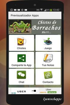 Chistes de Borrachos Hic poster