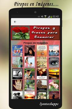 Piropos y Frases para Enamorar screenshot 3