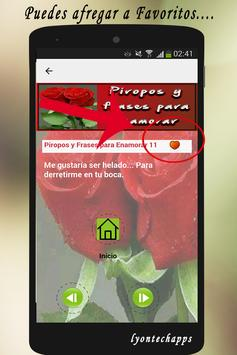 Piropos y Frases para Enamorar screenshot 1