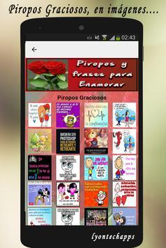 Piropos y Frases para Enamorar screenshot 4