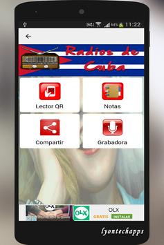Radios de Cuba apk screenshot