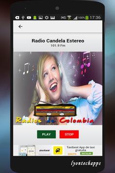 Radios de Colombia screenshot 4