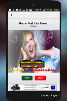 Radios de Colombia screenshot 14