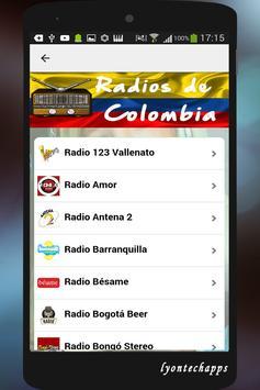 Radios de Colombia screenshot 1