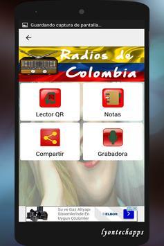 Radios de Colombia screenshot 2