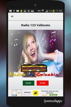 Radios de Colombia screenshot 3