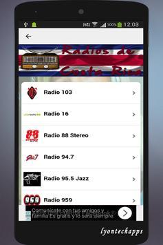 Radios de Costa Rica screenshot 1