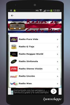 Radios de Costa Rica screenshot 2