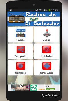 Radios de el Salvador poster