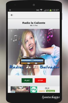 Radios de el Salvador apk screenshot