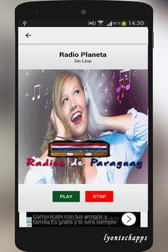 Radios de Paraguay screenshot 4