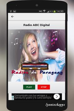 Radios de Paraguay screenshot 2