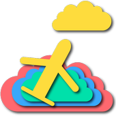 Plane And Cloud icon